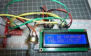 LCD-Display am Raspberry Pi ansteuern