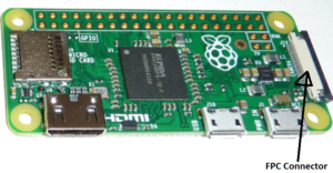 Raspberry Pi Zero 1.3 FPC Connector