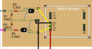 Friting Plan SainSmart Relais Raspberry pi
