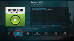 Configure Amazon VOD