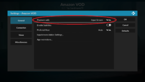 Amazon VOD InputStream