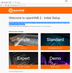 openhab webseite