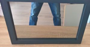 raspberry pi magic mirror fertig